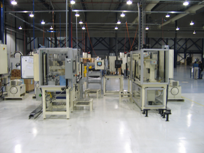 Front Cover Manual Assembly Line