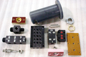 military machined parts